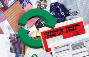 Begleitpapiertasche recycling PCR