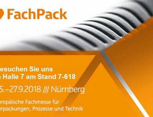 Besuchen Sie uns auf der FachPack 2018 in Nürnberg