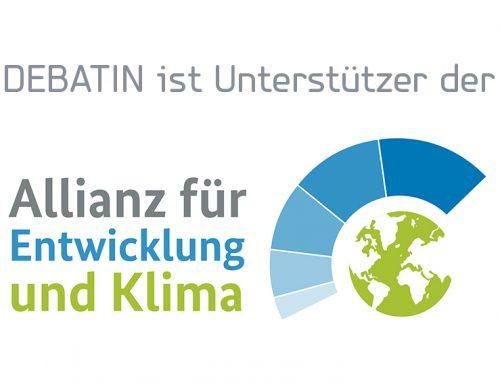"""""""Allianz für Entwicklung und Klima"""" – wir sind dabei"""