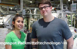 Packmitteltechnologin / Packmitteltechnologe
