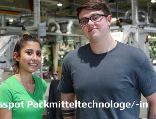 Ausbildungsspot Packmitteltechnologe/-in