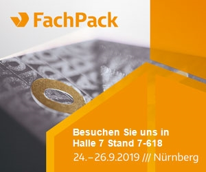 FachPack 2019 Halle 7 Stand 618