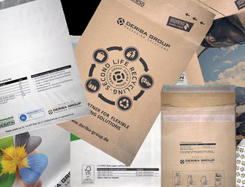 DEBATIN erweitert Produktsortiment um nachhaltige Papierversandtaschen