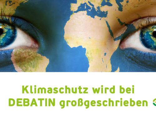 DEBATIN Unternehmensphilosophie und Nachhaltigkeitsstrategie erregen regional und überregional Aufmerksamkeit