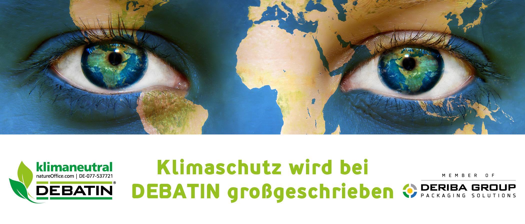 Titelbild Klimaschutz wir groß geschrieben