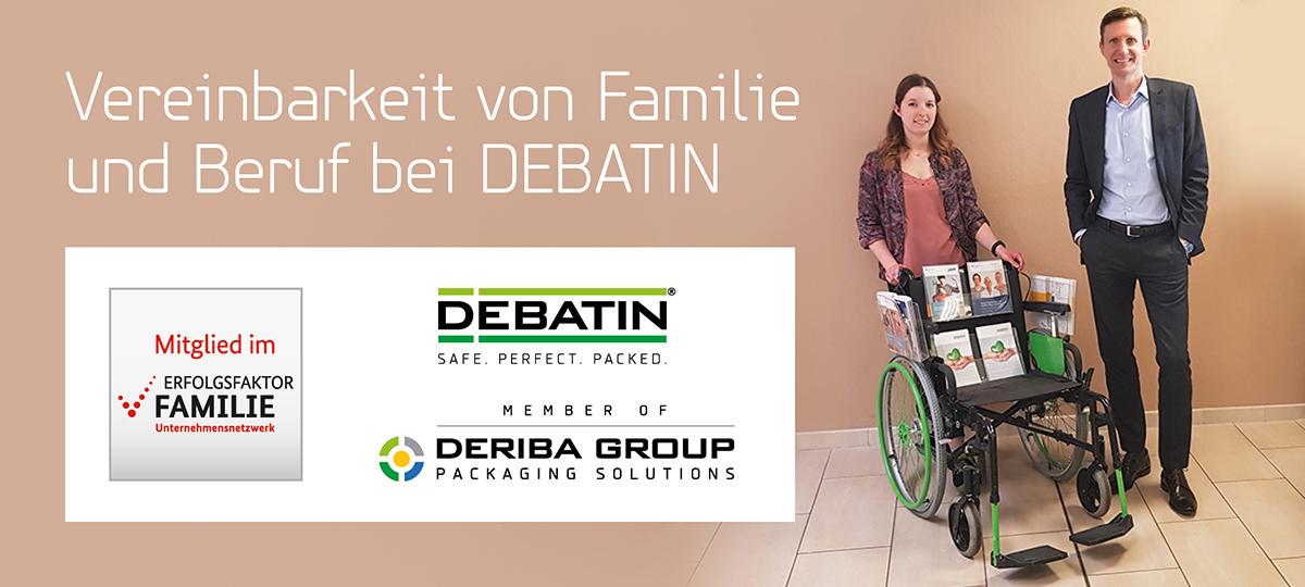 Vereinbarkeit Familie und Beruf bei DEBATIN