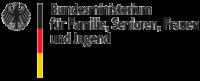 logo Bundesministeriums für Familie, Senioren, Frauen und Jugend