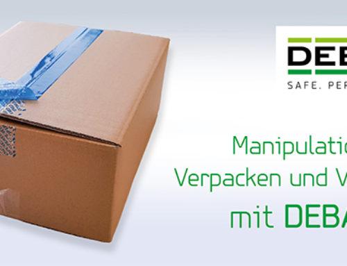 DEBASEAL Siegelband – Inhalte manipulationssicher verpacken und versenden