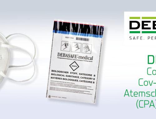 Geprüfte Corona SARS-Cov-2 Pandemie Atemschutzmasken (CPA) ab sofort über DEBATIN verfügbar!