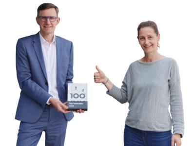 Thoams Rose und Alexa Ortmeier TOP 100