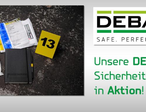 Schon gesehen? DEBATIN Safebags im TV und am/im Tatort…