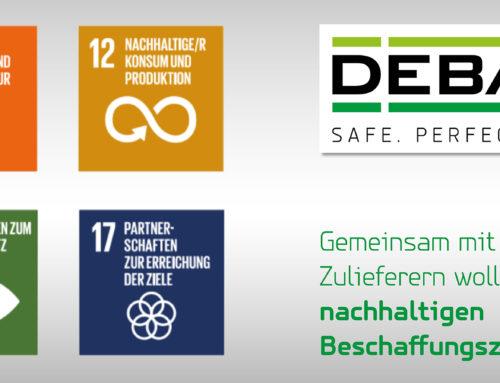 DEBATIN Nachhaltigkeitsstrategie: Nachhaltiger Einkauf alternativlos