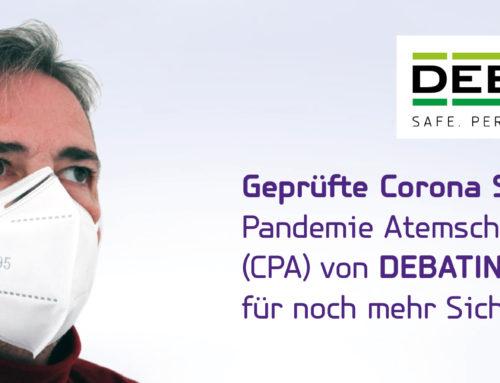 Sofort lieferbar: Geprüfte Corona SARS-Cov-2 Pandemie Atemschutzmasken (CPA) – für Ihre Sicherheit und die Ihres Gegenübers