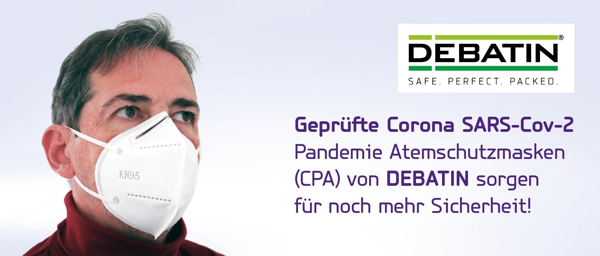 SARS-Cov-2 Pandemie Atemschutzmasken