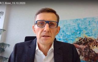 Videobotschaft Thomas Rose 15.10.2020