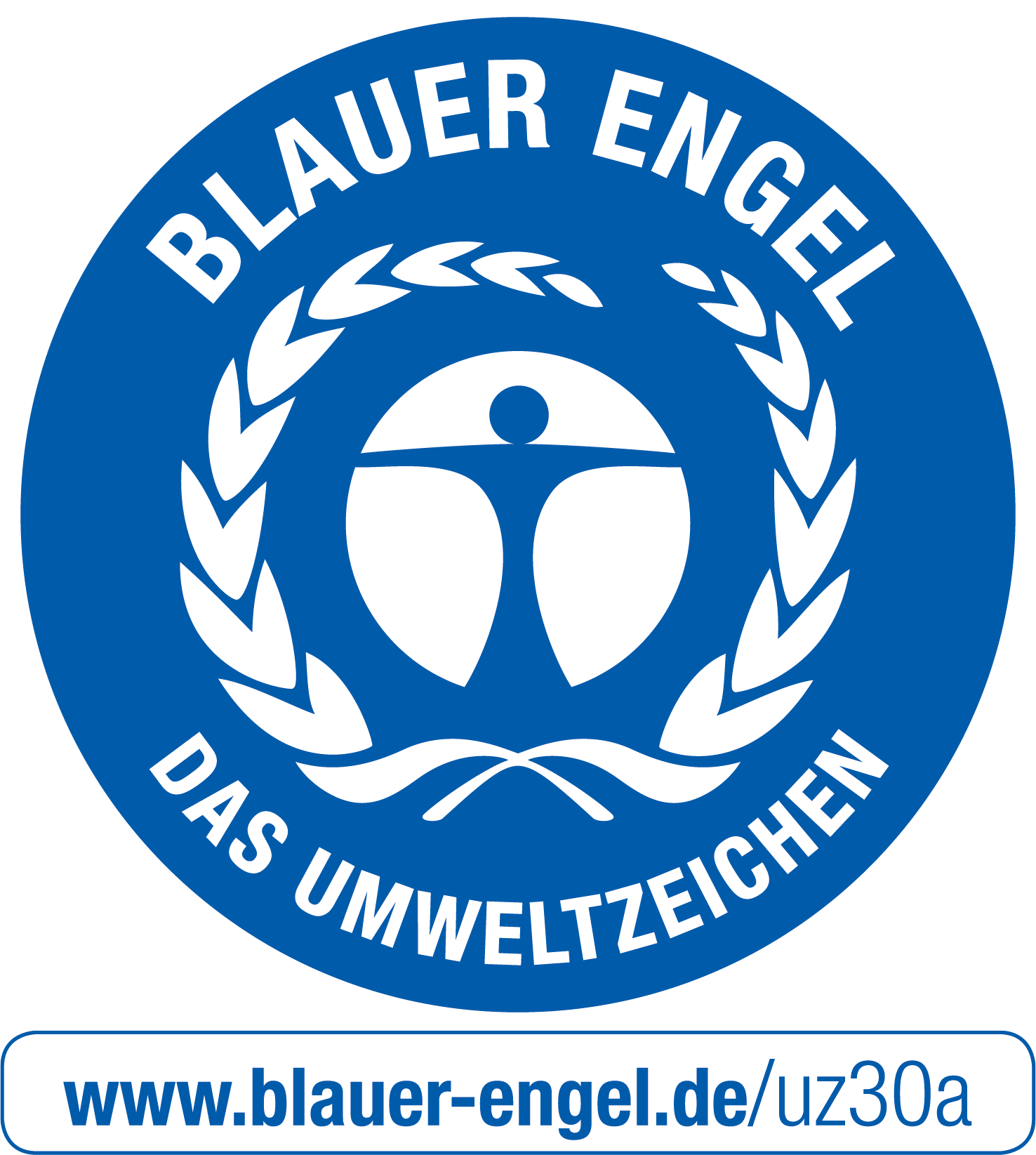 Blauer Engel Siegel Alternativtext