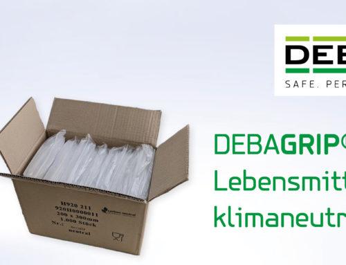 Wiederverschließbare DEBAGRIP®-Druckverschlussbeutel erfüllen Anforderungen für Kontakt mit Lebensmitteln