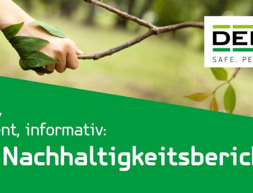 Der DEBATIN Nachhaltigkeitsbericht ist da – Jetzt für unseren Newsletter anmelden!