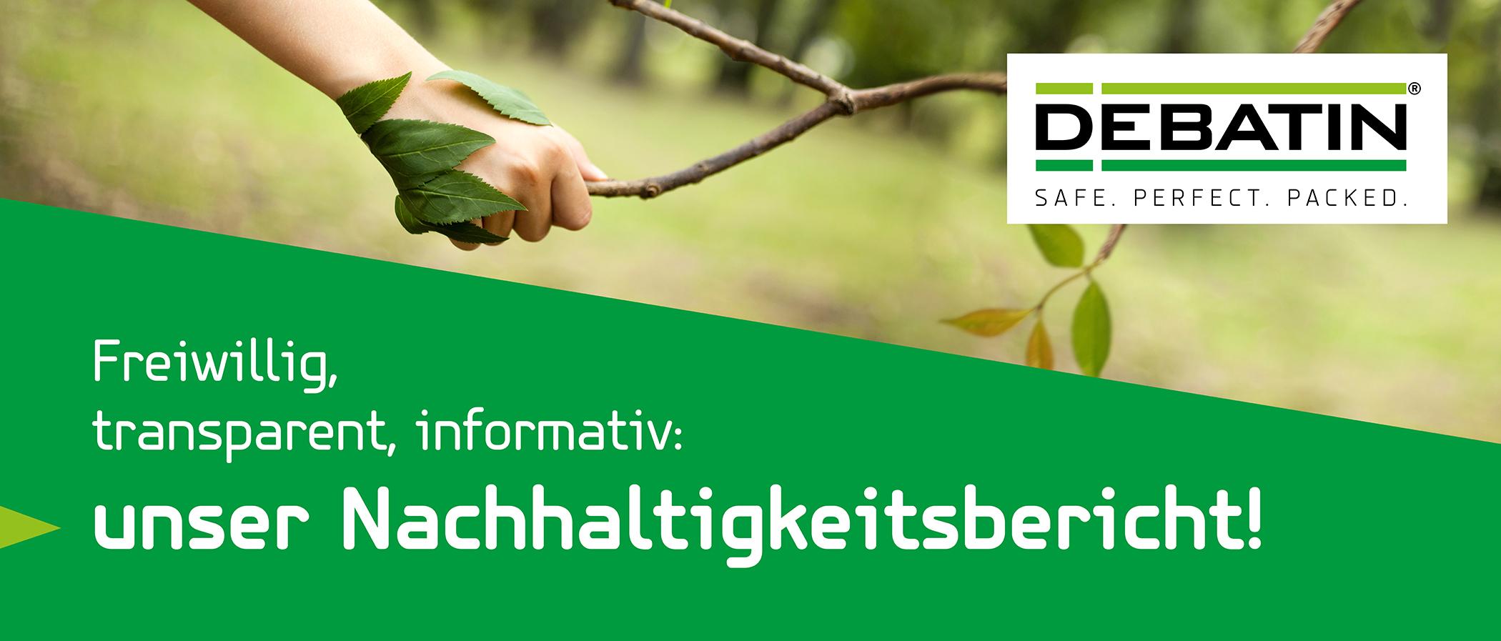 DEBATIN Nachhaltigkeitsbericht Newsblog