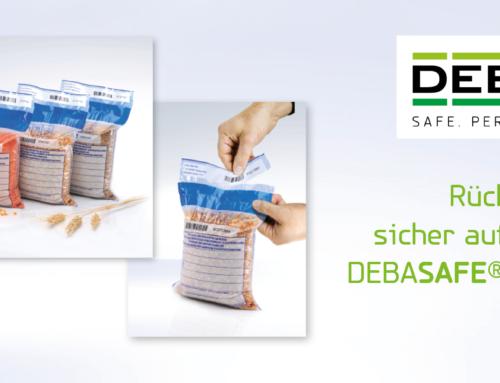 DEBASAFE® agriculture für Rückstellmuster und -proben – Jetzt schon an die kommenden Ernten denken!