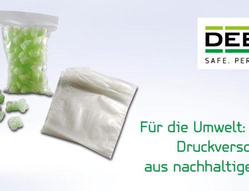DEBAGRIP® Druckverschlussbeutel aus PCR-Folie: Nachhaltig, umweltverträglich und klimaneutral