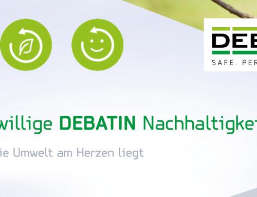 DEBATIN Nachhaltigkeitsbericht 2020 jetzt komplett als Download verfügbar