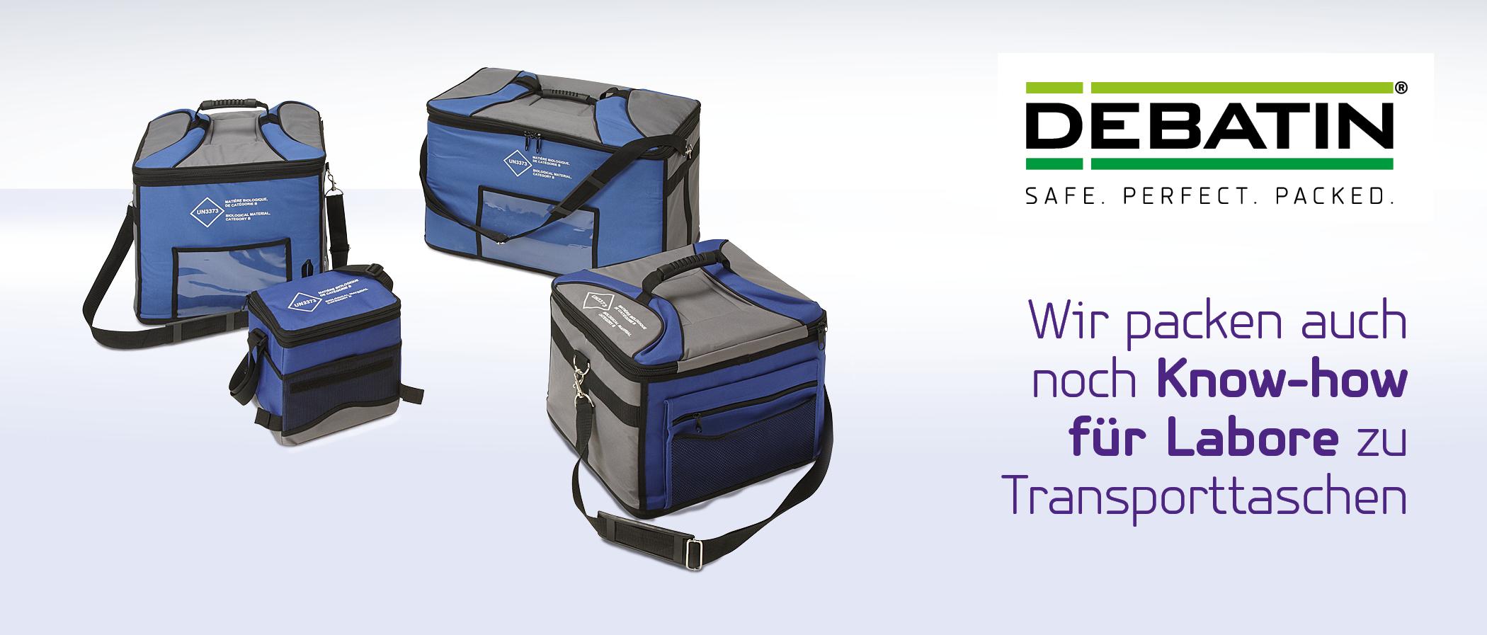DEBATIN Labore Transporttaschen