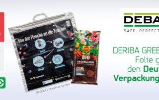 DERIBA Greenline Folie Verpackungspreis