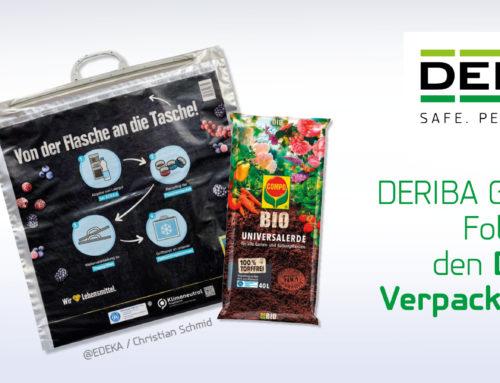 Deutscher Verpackungspreis für DERIBA GREENLINE® Folie