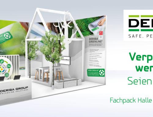 Jetzt Teil der Verpackungswende werden – Besuchen Sie uns auf der FACHPACK 2021 und entscheiden Sie sich für Ihre nachhaltige Verpackung!